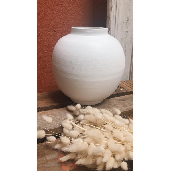 Bova Beyaz Vazo
